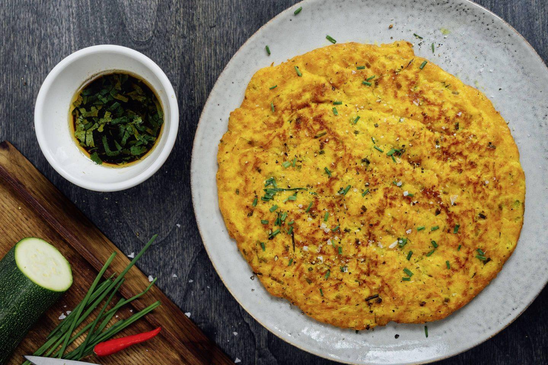 zucchini-Curry-Schmarrn kotányi