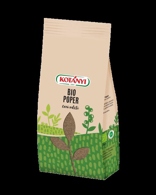 051706 Kotanyi Bio Poper Crni Mleti B2c Stock Bag S