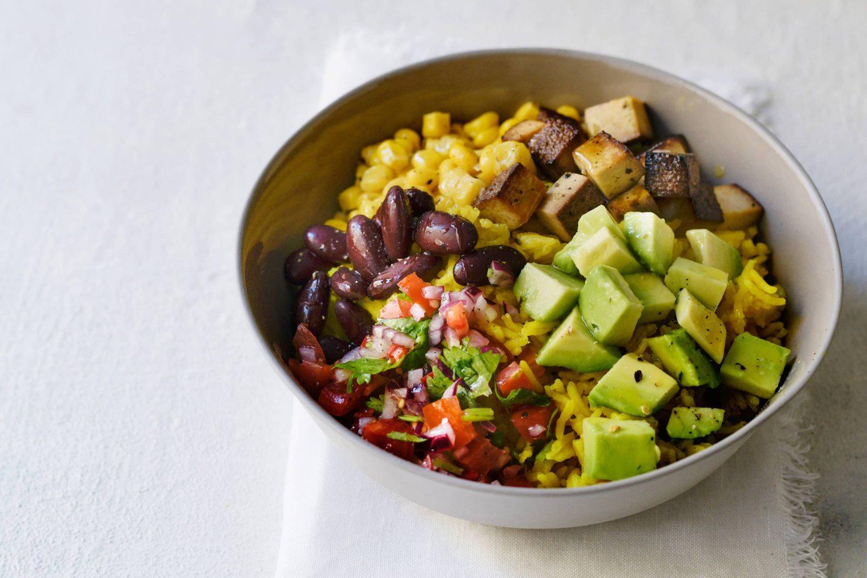 Vegane Burrito Bowl