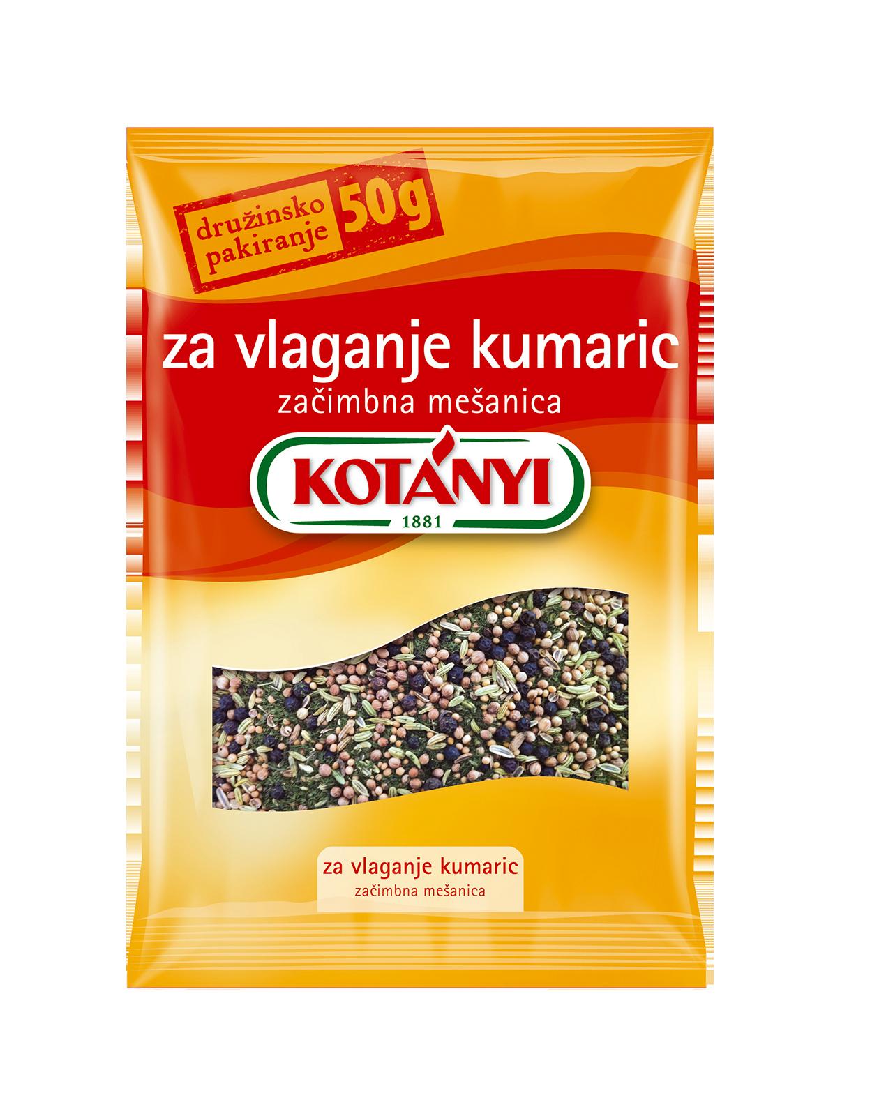 079706 Kotanyi Za Vlaganje Kumaric B2c Pouch