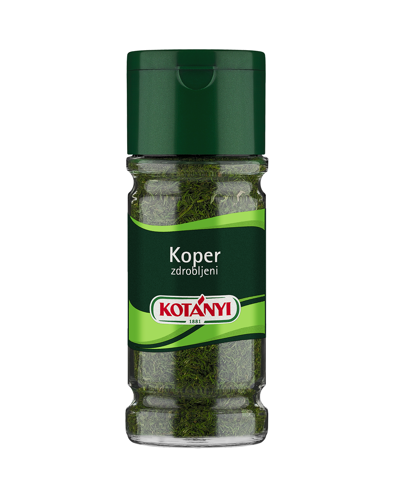 401206 Kotanyi Koper Zdrobljen B2c Glass M