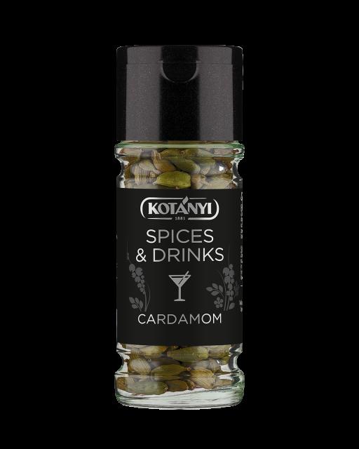 40940801 Kotanyi Spices & Drinks Kardamom Celi B2c Glass M
