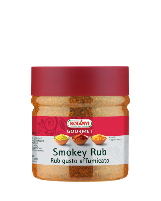 743214 Kotanyi Smokey Rub B2b Jar 400ccm