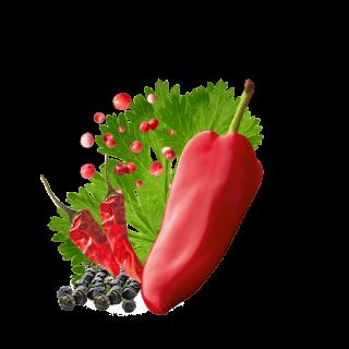 Multicolored Pepper Mix Content Si
