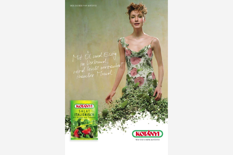 Oglas za Kotányi iz začetka 21. stoletja